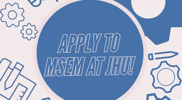 It's not too late to apply to MSEM!